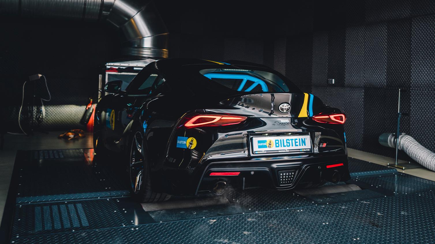 BILSTEIN Toyota Supra 2019 2020 2021 Tuning DB MK4 MK5 Tracktool Nürburgring